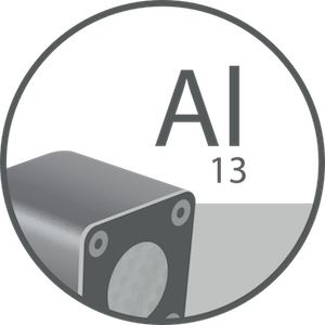 relio aluminum body icon